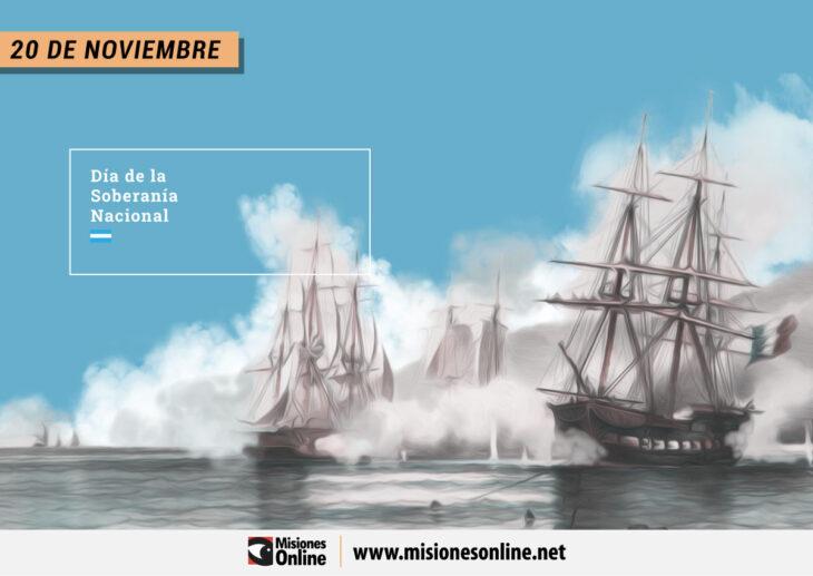 Hoy 20 de noviembre se celebra el Día de la Soberanía Nacional Argentina