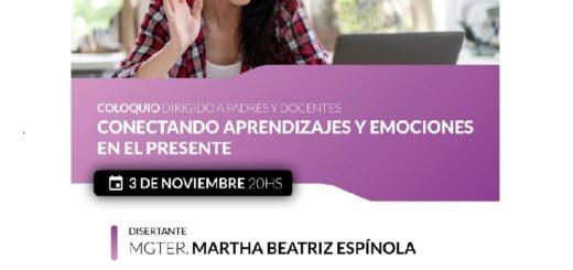 """La Universidad de la Cuenca del Plata organiza el coloquio """"Conectando aprendizajes y emociones en el presente"""""""