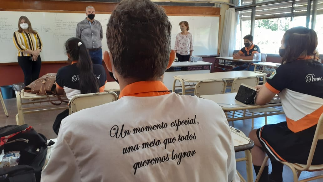 """Miguel Sedoff, sobre el regreso a las clases presenciales: """"En todas las escuelas encontramos muchísimo entusiasmo, muchas ganas, altísima concurrencia"""""""