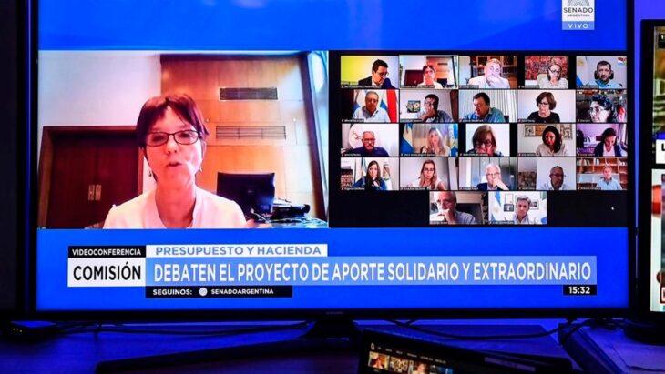 El proyecto de Aporte Solidario y Extraordinario obtuvo dictamen en el Senado