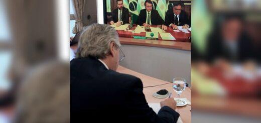 """El Presidente dialogó con Bolsonaro y llamó a dejar """"las diferencias del pasado"""""""