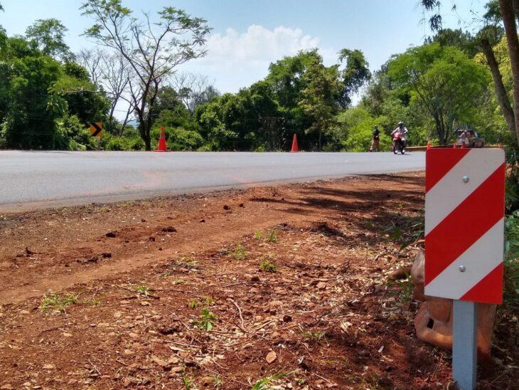 Vialidad Provincial concluyó mejoras en el acceso a los barrios Ackermann y San Gotardo en Capioví