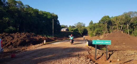 Vialidad construyó y habilitó un nuevo puente en Picada Urquiza, Alem
