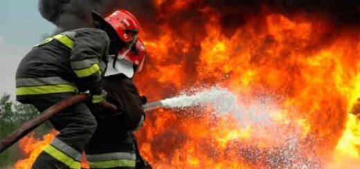 """Bomberos voluntarios atacados con piedras: Mientras trataban de controlar el fuego, """"un grupo de jóvenes activaban focos al otro lado del camino"""""""
