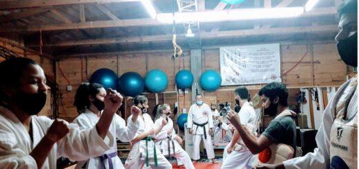 Reinician las clases de karate do en Concepción de la Sierra