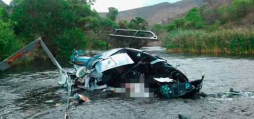 Según el primer informe el helicóptero en el que viajaba Jorge Brito cayó tras impactar con cables