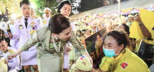 La imagen de una escolta de la reina de Tailandia que escandaliza al mundo