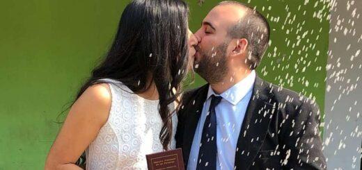 se casaron en vivo