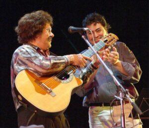 Claudio Bustos y Ramón Ayala