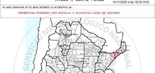 Temporal en Corrientes con fuertes tormentas y caída de granizo dejó sin luz varias localidades