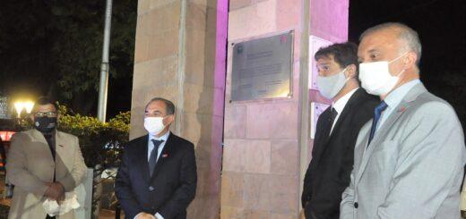 Posadas celebró los 150 años de su fundación con un acto en la Plaza 9 de julio