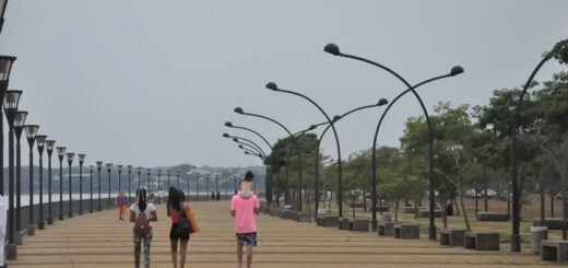 A pesar del día nublado, cientos de personas realizaron actividades permitidas en Posadas