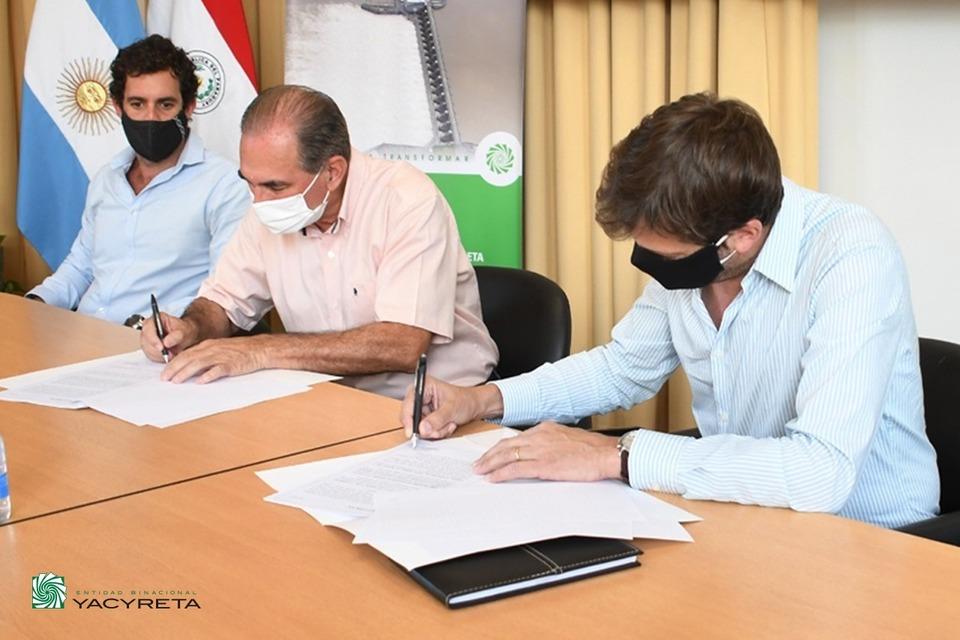 Yacyretá firmó Convenio de Colaboración con la municipalidad de Posadas