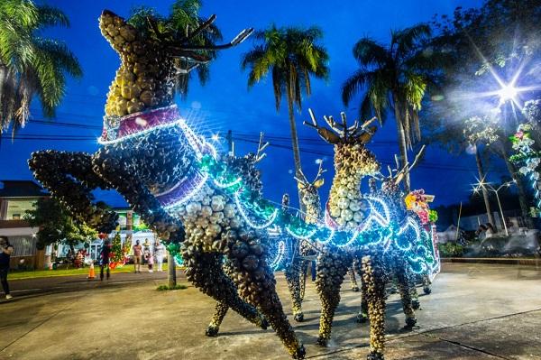 オスカーエレーラアワド知事がカピオヴィでクリスマスパーティーを開催しました