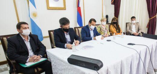 Misiones firmó acuerdos de financiamiento