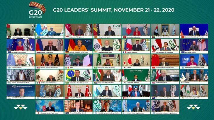 """Compromiso del G20: """"responder a las necesidades financieras"""" para lograr una distribución justa de la vacuna contra el Covid-19"""