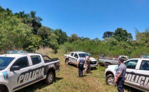 Libertad: en un operativo policial se evitó un intento de usurpación de una treintena de personas en la reserva natural privada de Puerto Bemberg