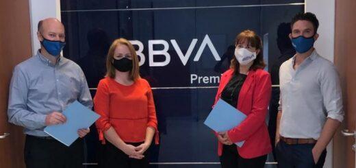 Mejora Continua Comunidad de Negocios firmó un convenio con BBVA Argentina S.A. y BBVA Broker