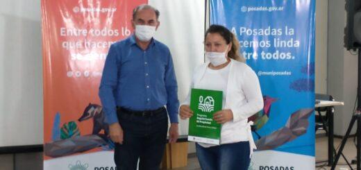 Entregaron permiso de ocupación para cinco familias del barrio San Lucas de Posadas