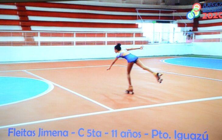 Juegos Deportivos Misioneros: comenzaron a rodar las presentaciones virtuales de patinaje artístico