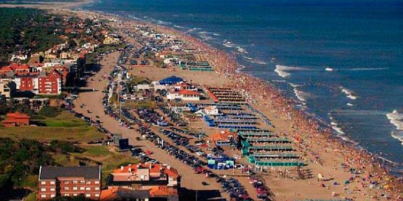 アルゼンチンの海岸