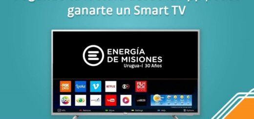 Últimos días para ganarse el Smart TV de Energía de Misiones