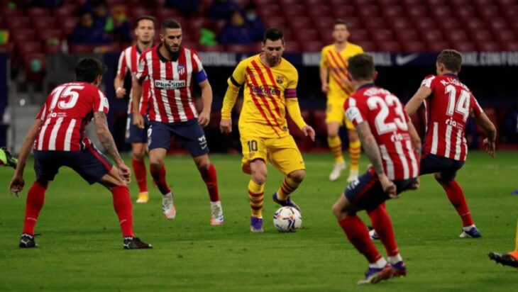 Atlético Madrid gana por 1-0 a Barcelona