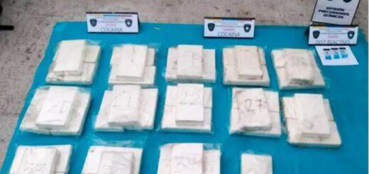 Detuvieron a la hermana de un jugador de River con 41 kilos de cocaína