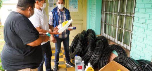 El IFAI entregó insumos y botiquín veterinario para atender al sector Ovino- Caprino de Cerro Corá