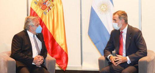 El Presidente mantuvo una audiencia con el Rey de España, Felipe VI