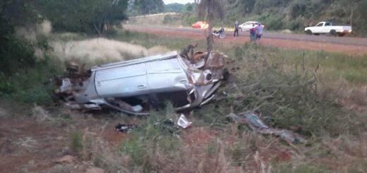Dos personas heridas tras un despiste en Gobernador Roca