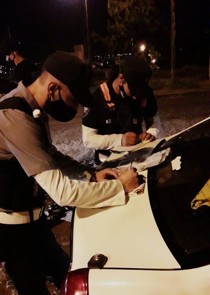 州の市民セキュリティオペレーション:77台の車両が拘束され、178のレコードが作成され、27が拘束されました