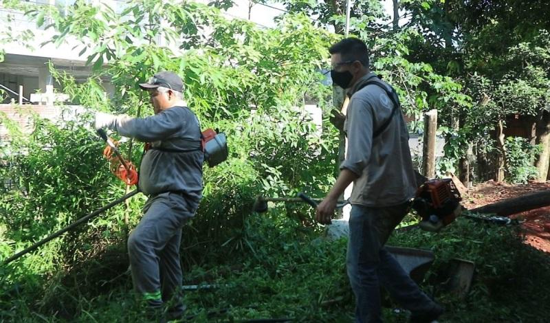 Posadas: avanzan la limpieza y saneamiento ambiental del Arroyo Itá