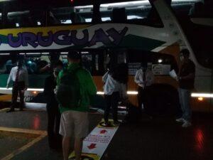 Desde la Terminal de Posadas partió a las 6.30 el primer viaje hacia Resistencia, Chaco desde el regreso de los servicios en pandemia