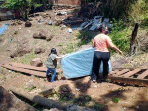 Asistieron a una familia en situación de vulnerabilidad en Posadas