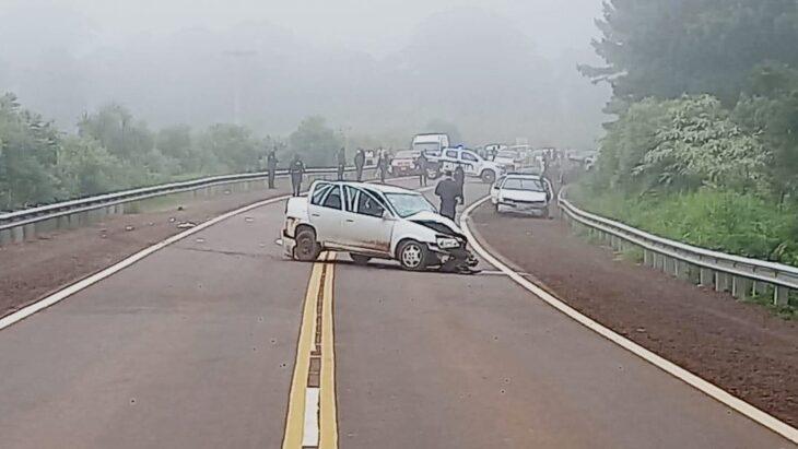 Joven policía murió en un accidente de tránsito sobre la ruta 14 en Bernardo de Irigoyen