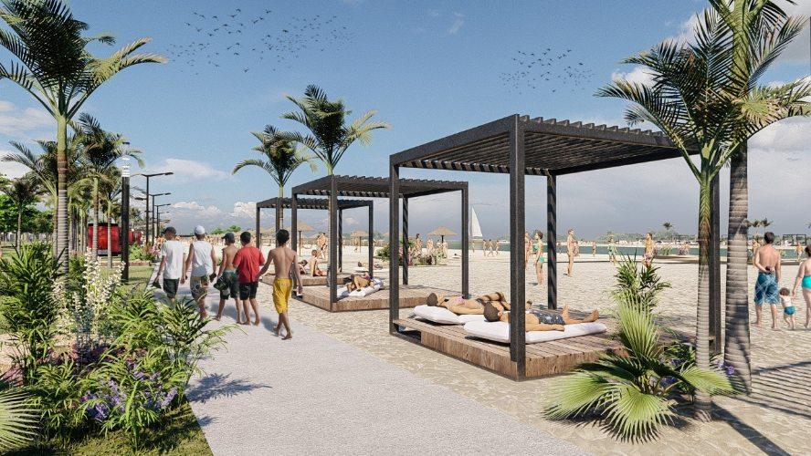 """""""Posadas linda de nuevo"""": este lunes inician las obras en la playa Miguel Lanús y continúa la planificación para mejorar distintos puntos de la ciudad"""