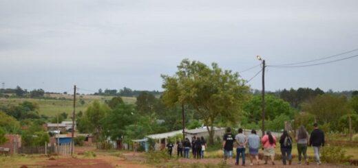 La Defensoría del Pueblo de Posadas inició un relevamiento en el barrio Porvenir II