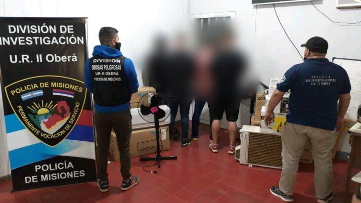 Cuatro detenidos en Oberá por estafa millonaria con cheques truchos