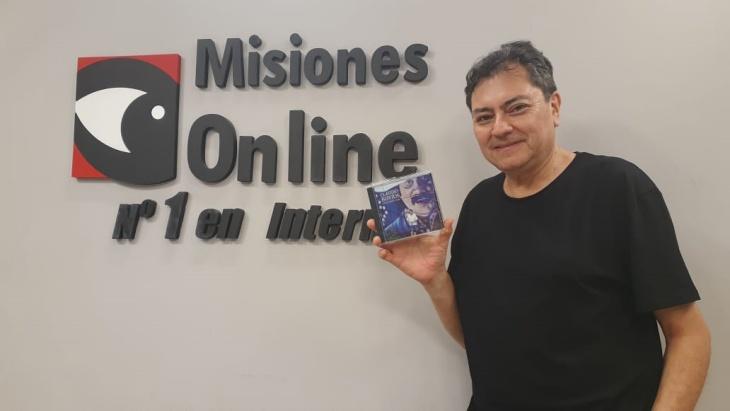 Claudio Bustos presenta su nuevo disco que reúne las grandes creaciones musicales de Ramón Ayala