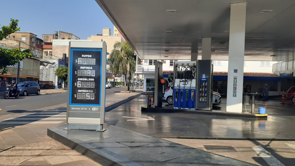 La estaciones de servicio de Posadas incrementaron el precio de los combustibles, a pesar de que desde la CESANE afirmaron que esta alza no aplicaba a Misiones