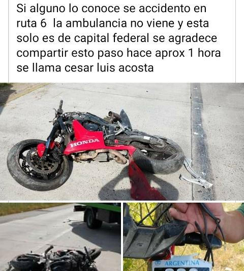 No fue en Misiones el accidente que circula en grupos de WhatsApp por el cual piden contactar a la familia de un joven