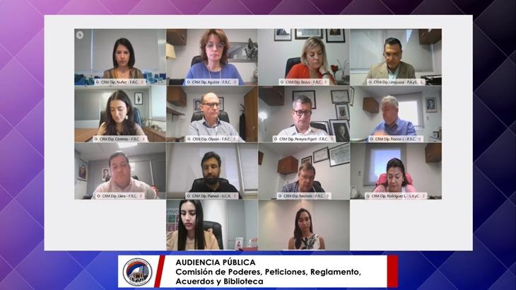 La Legislatura realizó audiencias públicas con los candidatos a cubrir cargos judiciales en Montecarlo y Puerto Rico