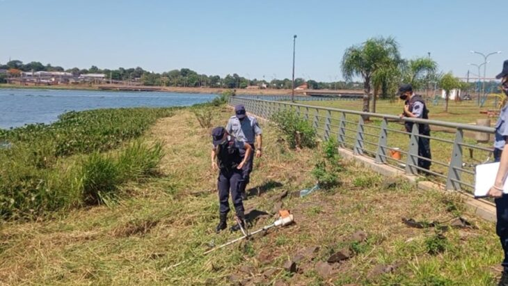 The tragic death of a young man while mowing the lawn on the Posadas waterfront