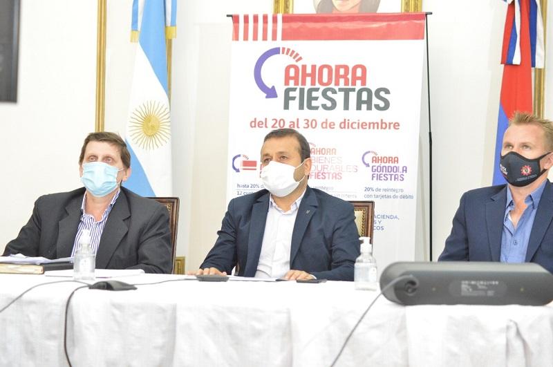 Herrera Ahuad presentó el programa Ahora Fiestas con importantes descuentos y beneficios para la familia misionera