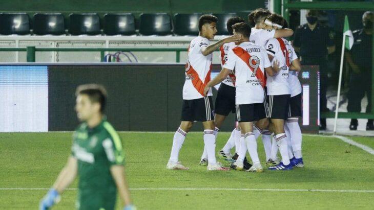 Copa Liga Profesional: River venció a Banfield como visitante 2-0