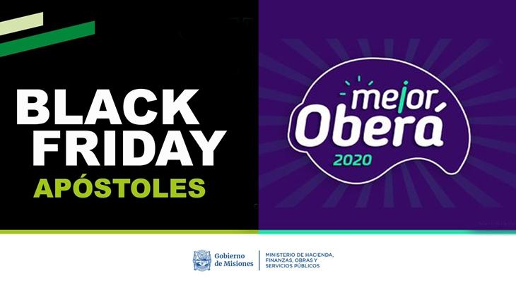"""""""Mejor Oberá"""" y """"Black Friday Apóstoles"""": comienza una semana de ofertas y descuentos"""