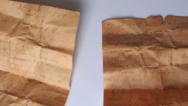 Encontraron una carta de 1941 dirigida a las nuevas generaciones