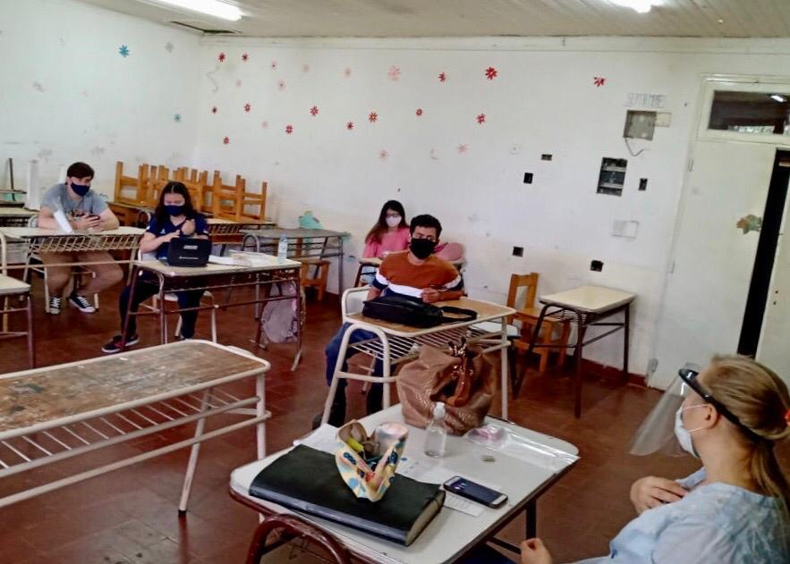 Eldorado: este lunes la Escuela Normal comenzó a dictar clases presenciales para alumnos de los últimos años