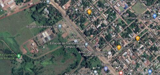 Modifican la circulación vehicular sobre la colectora del Campus de la UNaM en Posadas